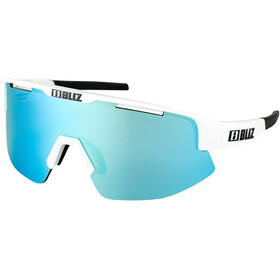 Bliz Matrix M12 Glasses shiny white/smoke with blue multi